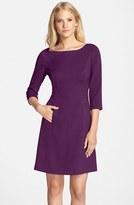 Vince Camuto Women's Crepe A-Line Dress