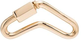 Marla Aaron 14kt yellow gold Boomerang lock charm