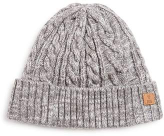 Frye Cable-Knit Cuff Hat