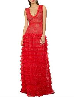 Bronx & Banco Lolita Red Gown