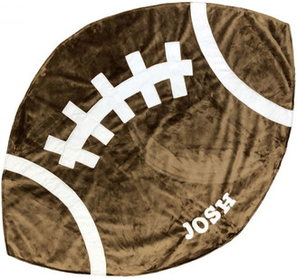 Boogie Baby Personalized Football Blanket