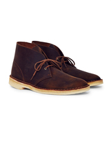 Clarks Leather Desert Boot Brown