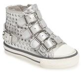 Ash Toddler Girl's Vava Starboss Buckle Strap High Top Sneaker
