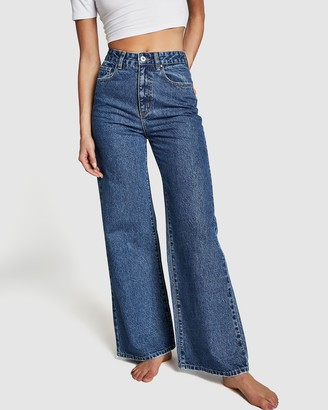 Cotton On Long Wide Jeans
