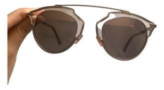 Christian Dior So Real Pink Metal Sunglasses