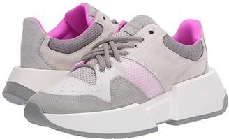 MM6 MAISON MARGIELA Big Sole Mixed Sneaker (Mineral Gray/Birch) Women's Shoes