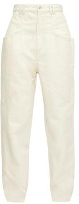 Isabel Marant Eloisa Straight-leg Jeans - Ivory