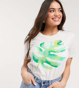 We Are Hairy People t-shirt with hand painted palm in organic cotton