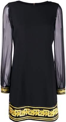 Versace Baroque print shift dress