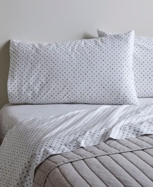 ED Ellen Degeneres Printed Cotton Percale Full Sheet Set Bedding