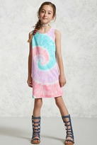 Forever 21 FOREVER 21+ Girls Tie-Dye Dress (Kids)