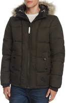 G Star Whistler Faux Fur Trim Hooded Jacket