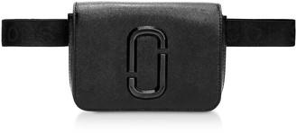 Marc Jacobs Black Leather Hip Shot Belt Bag