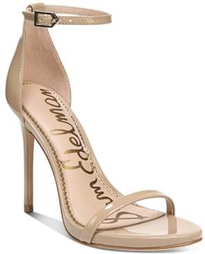 Sam Edelman Ariella Ankle-Strap Dress Sandals Women's Shoes