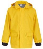 Petit Bateau Chartreuse Yellow Classic Raincoat