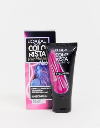 L Oréal Pa L'Oreal Paris Colorista Hair Make Up Neon 21 Pink