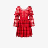 Alexander McQueen tiered polka dot dress