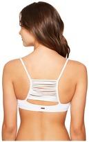 Roxy Strappy Love Athletic Crop Bikini Top Women's Swimwear