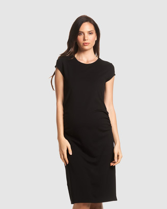 Soon Romee Midi Maternity Dress