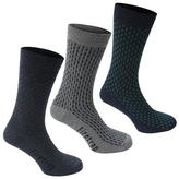 Firetrap Blackseal 3 Pack Socks