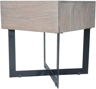 Moe's Home Collection Tiburon Side Table Pale Grey