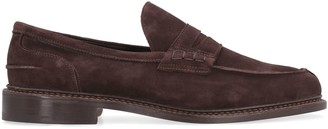 Tricker's Trickers Adam Suede Penny Loafers