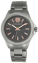 Vince Camuto Gunmetal Link Bracelet Watch, VC5267GYRT