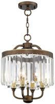Thumbnail for your product : Livex Lighting Livex Ashton 4-Light Pbz Mini Chandelier/Flush Mount