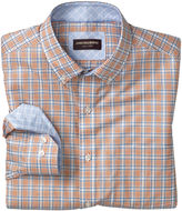 Johnston & Murphy Triple Line Check Button-Down Collar Shirt