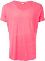 Orlebar Brown V-neck T-shirt - men - Cotton/Polyester - M