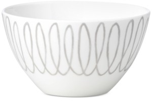 Kate Spade Charlotte Street East Grey Collection Soup/Cereal Bowl