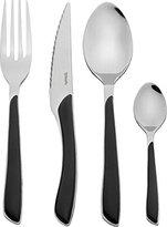 Amefa Eclat 24-Piece Cutlery Set, Black