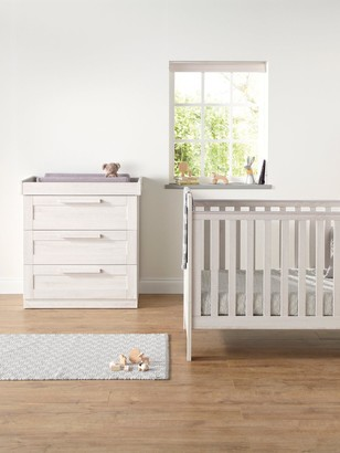 Mamas and Papas Atlas Cot Bed & Dresser