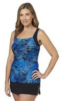 TYR 2PC Square Neck Tankini with Skirt