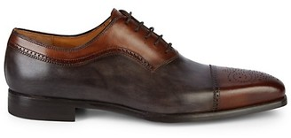 Magnanni Two-Tone Leather Brogues