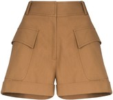 Victoria Beckham High-Waisted Pocket Shorts