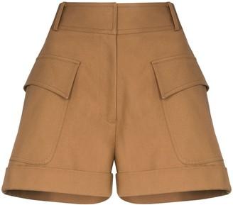 Victoria Beckham High-Waisted Pocket Shorts
