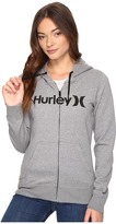 Hurley One Only Icon Fleece Zip Women's Fleece