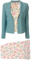 Chanel Pre Owned Setup three-piece skirt suit
