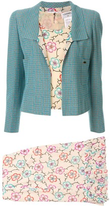 Chanel Pre-Owned Setup three-piece skirt suit