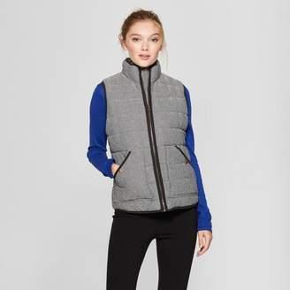 DAY Birger et Mikkelsen A New Women's Herringbone Puffer Vest - A New Gray