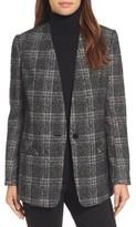 Halogen Petite Women's Glen Plaid Jacket