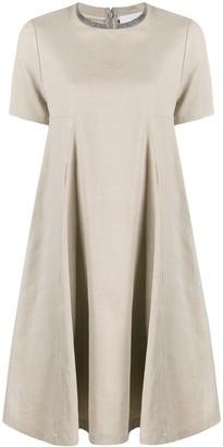 Fabiana Filippi Chain-Trim Flared Dress