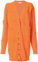 J.W.Anderson pocket detail cardigan - women - Cashmere/Virgin Wool - S