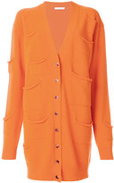 J.W.Anderson pocket detail cardigan - women - Cashmere/Virgin Wool - XS