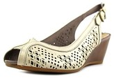 Hush Puppies Baxley Rhea W Open Toe Synthetic Wedge Heel.