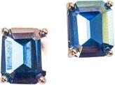 Violet & Brooks 'Everlyn' Emerald Crystal Earrings