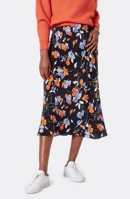 Joie Brystal Silk Midi Skirt