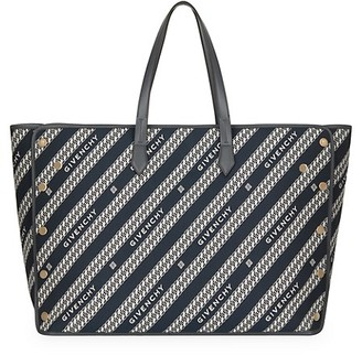 Givenchy Large Bond Logo Jacquard Shopper