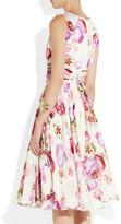 Giambattista Valli Floral-print silk-chiffon dress